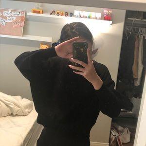 sweater / black / Zara